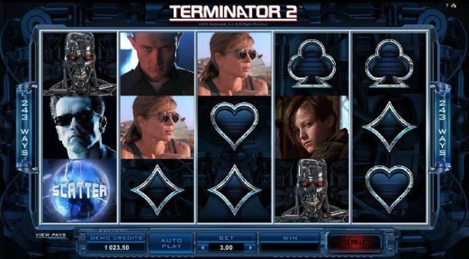 Bonusar och free spins på Terminator 2